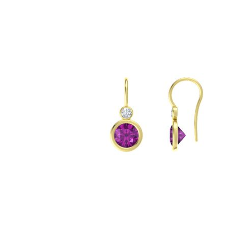 Gemstones by the Yard Accent Drop Earrings