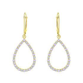 Brilliant Teardrop Earrings