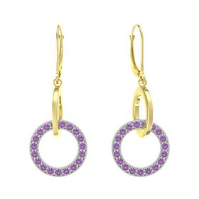 Interlocking Circle Earrings