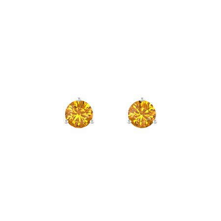 Martini Stud Earrings (6mm gems)