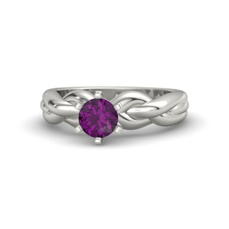 Eternal Braid Solitaire Ring