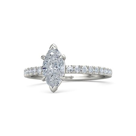 Marquise-Cut Candace Ring (10mm gem)