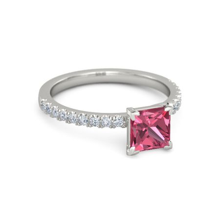 Princess-Cut Candace Ring (6mm gem)