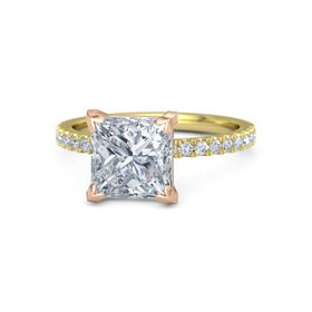 Princess-Cut Candace Ring (8mm gem)