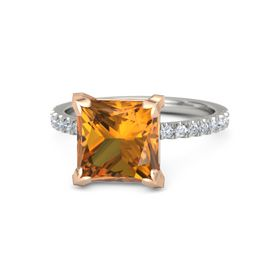 Princess-Cut Candace Ring (9mm gem)