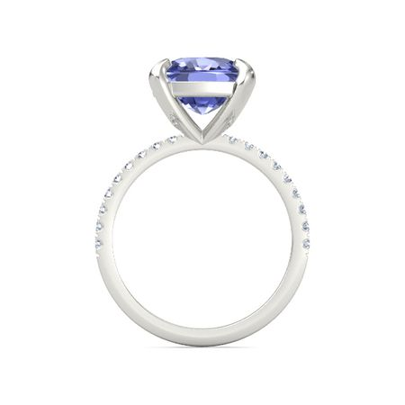 Cushion-Cut Candace Ring (10mm gem)