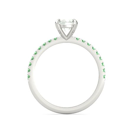 Oval-Cut Candace Ring (8mm gem)