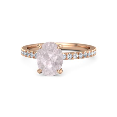 Oval-Cut Candace Ring (9mm gem)