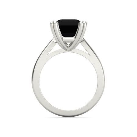 emerald cut black onyx platinum ring julianne ring gemvara