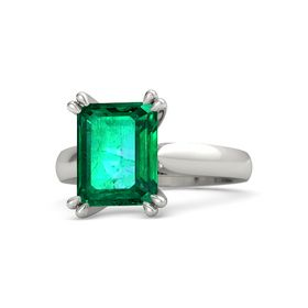 Emerald Emerald 14K White Gold Ring