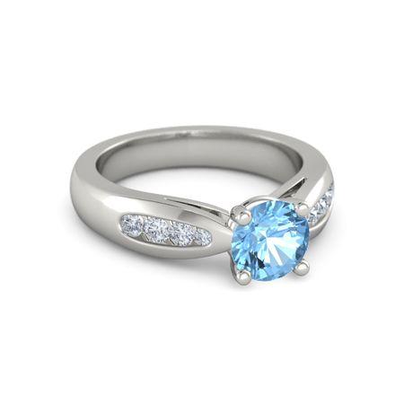 Mia Diamonds 14k Yellow Gold Amethyst Birthstone Ring