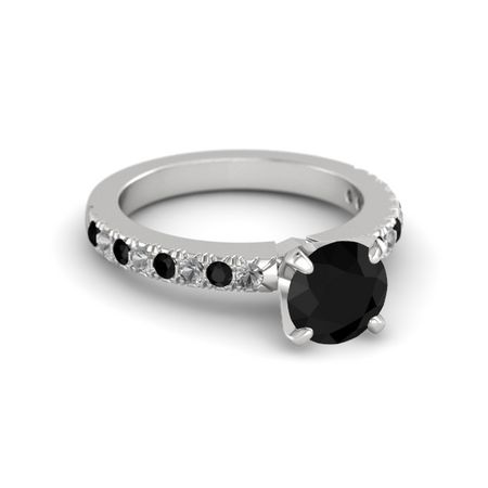 Round-Cut Lara Ring (7.1mm gem)