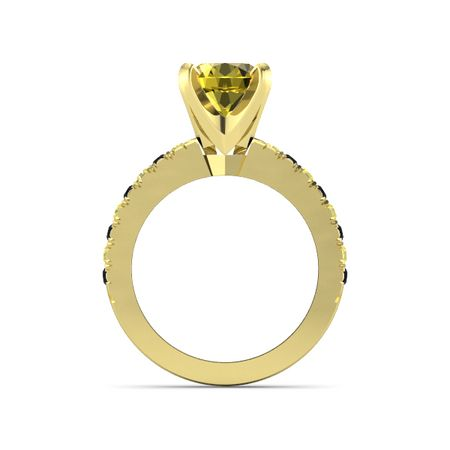 Round-Cut Lara Ring (8mm gem)