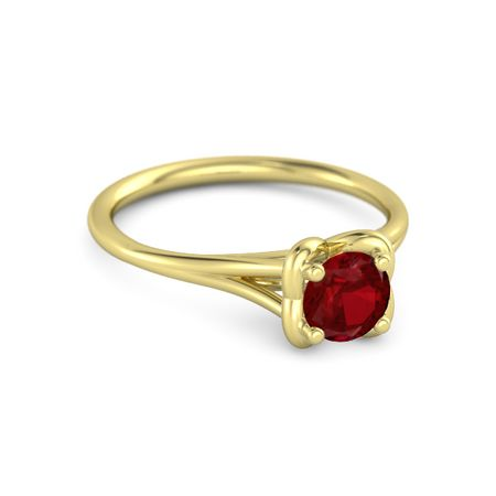 Abbey Ring (5mm gem)
