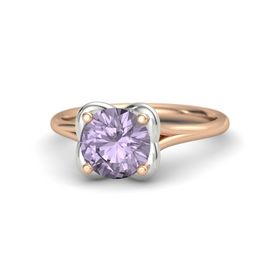 Round Rose de France 18K Rose Gold Ring