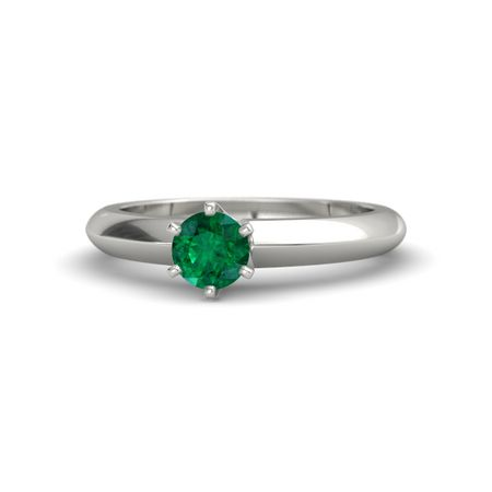 Round-Cut Lisa Ring (5mm gem)