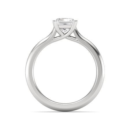 Ivy Princess-Cut Ring (5.2mm gem)