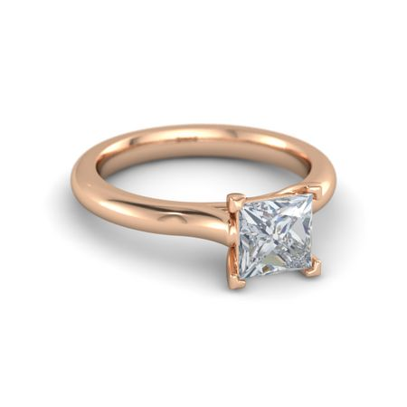 Ivy Princess-Cut Ring (6.3mm gem)