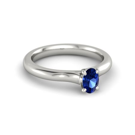 Ivy Oval-Cut Ring (6mm gem)