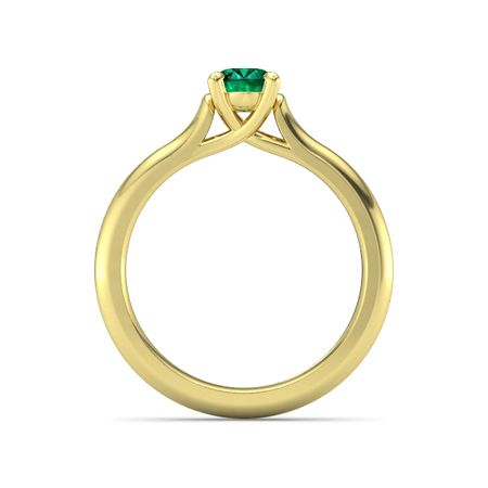Ivy Oval-Cut Ring (7mm gem)