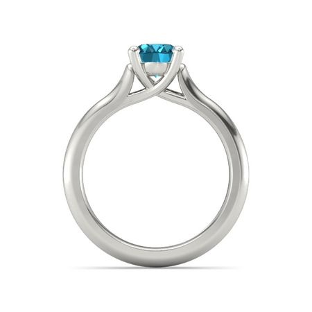 Ivy Oval-Cut Ring (8mm gem)