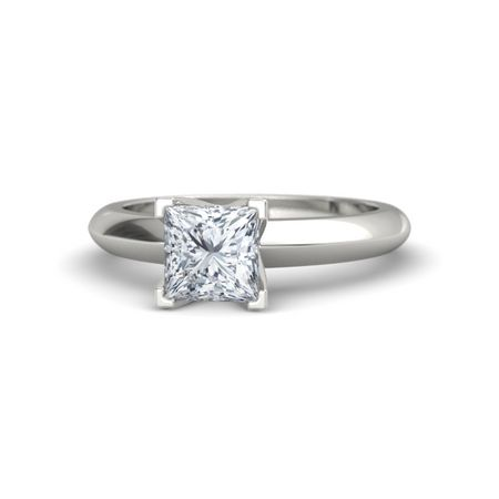 Princess-Cut Lisa Ring (6mm gem)