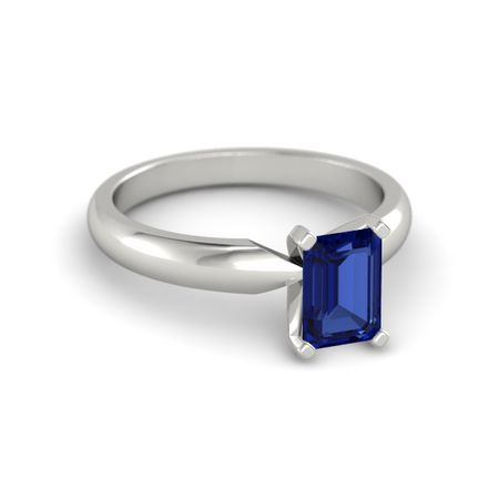 Emerald-Cut Ara Ring (7mm gem)