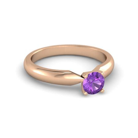 Round-Cut Ara Ring (5mm gem)