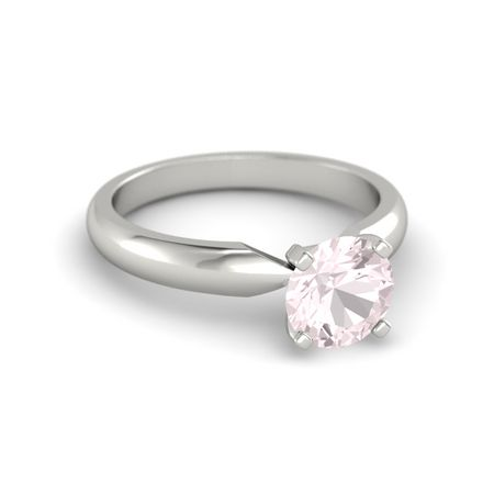 Round-Cut Ara Ring (7mm gem)
