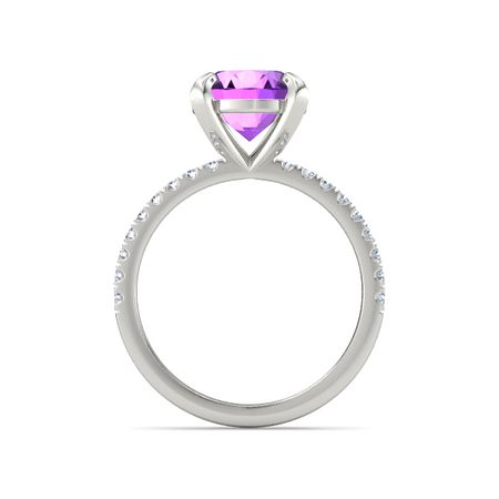 Round-Cut Candace Ring (9mm gem)