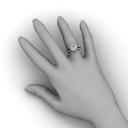 Clementine Ring (6mm gem)