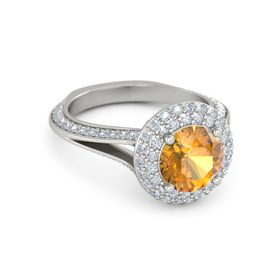 Clementine Ring (8mm gem)