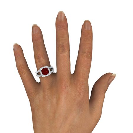 Simone Ring (8mm gem)