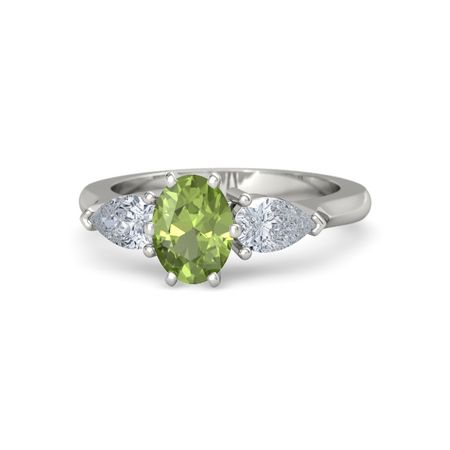 Oval Pear Ring