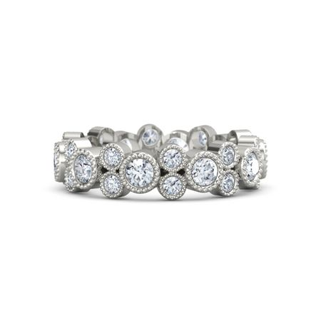 eternity p band diamondsbyraymondlee platinum product a round bands diamond