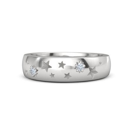 Instant star wedding ring