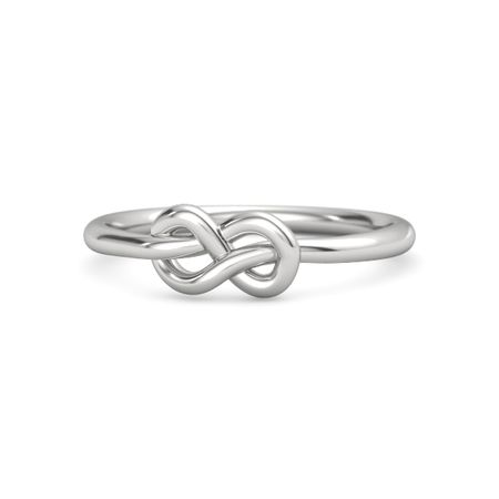 sterling silver ring forget me knot ring gemvara