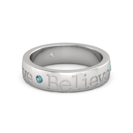 Believe Band (5mm wide)
