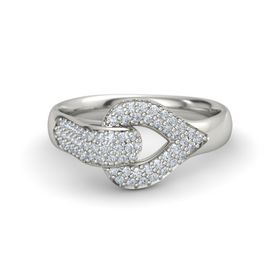 Platinum Ring with Diamond