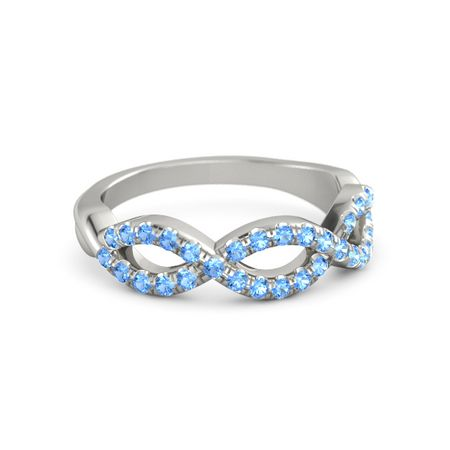 Brilliant Infinity Twist Band (3 Loops)