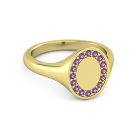 Brilliant Signet Ring