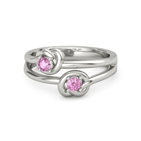 Double Knots Ring