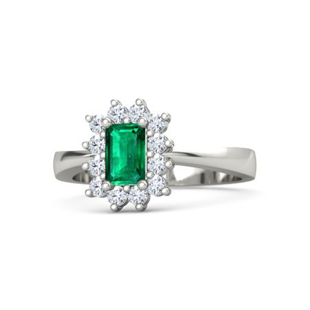 Emerald Ballerina Ring