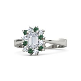 Emerald Diana Ring