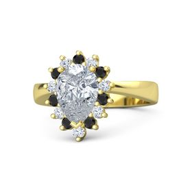 Pear Diana Ring