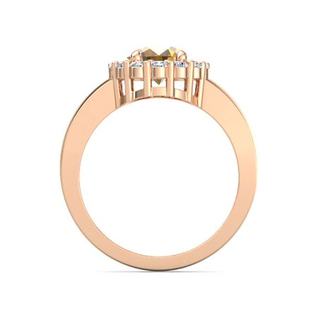 Penelope Ring (9mm gem)