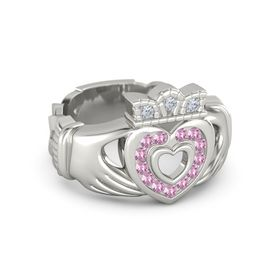 Brilliant Claddagh Ring