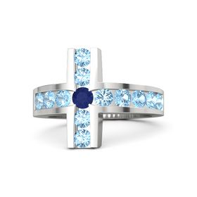 Brilliant Cross Ring