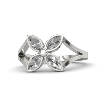 Quatrefoil Flower Ring
