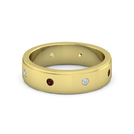 Gemstone Band (6mm wide)